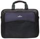 """MANHATTAN Notebook Briefcase """"Cologne"""" Fits Widescreens Up To 17"""", 330 x 42 0 x 63 mm, Black/ Blue"""