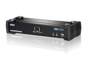 ATEN KVM Sw. 2P. USB DVI 3D Audio (CS1782A-AT-G)