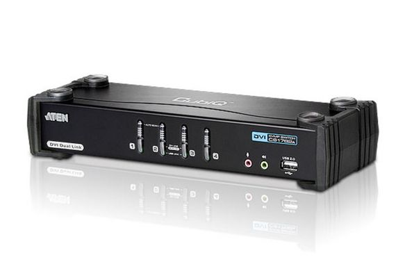 ATEN KVM SWITCH CS1784A 4-PORT DVI/USB