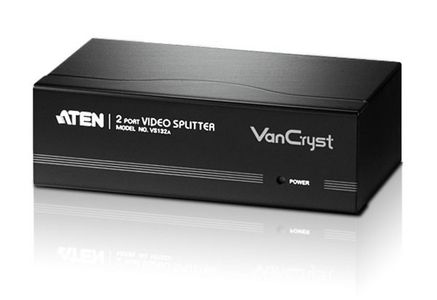 ATEN Video Splitter 2 Port VGA 450MHz (VS132A-AT-G)