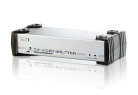 ATEN Video Splitter DVI 2P m/ audio (max 1600x1200) (VS-162)