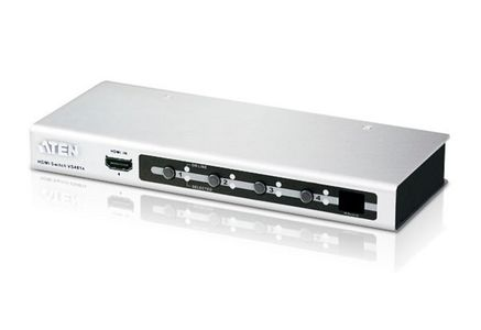 ATEN 4 Port HDMI Connections,  1.3B (VS481A-AT-G)