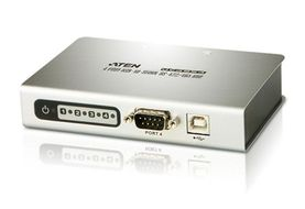 ATEN USB-ansluten seriell hub, 4 portar, RS-485, DB9ha (UC4854-AT)