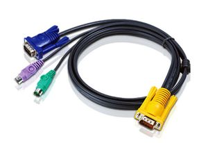 ATEN 20FT SPHD15M-HD15M/ MINIDIN6M CABLE