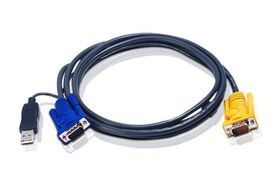 KVM kabelsett 2L-5206UP USB 6m