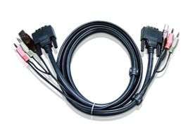 ATEN DVI KVM CABLE WITH USB AUDIO (2L-7D02U)