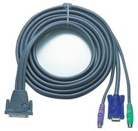 10FT 3-IN-1 PS2 PREMIUM KVM CABLE F/ MASTERVIEW PRO