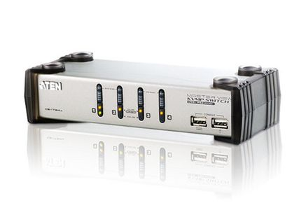 ATEN 4-Port USB KVMPÙ Switch (CS1734AC-AT)