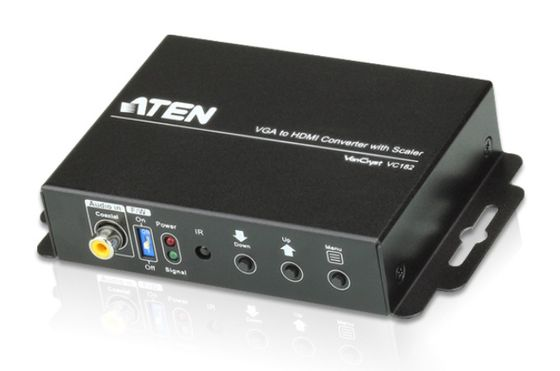 ATEN Converter VGA/HDM with Scaler | converts the analog signal to digital HDMI
