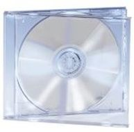 EDNET SINGLE CD JEWEL CASE TRANSPARENT TRAY & COVER 5 PCS ACCS (64031)