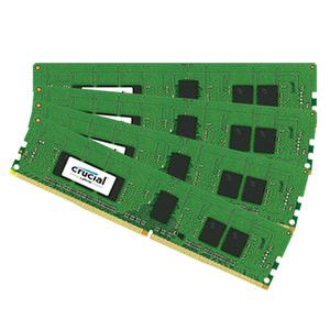 16GB Kit (4GBx4) DDR4 2133 MT/s (PC4-17000) CL16 SR x8 Unbuffered DIMM 288pin