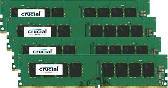 32GB Kit DDR4 2133MHz 4x 8GB