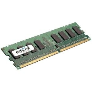 CRUCIAL 1GB DDR2 800MHz PC2-6400 / UDIMM 240pin / CL6 (CT12864AA800)