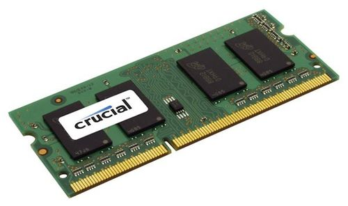 CRUCIAL 4GB DDR3 1066 MT/s CL7 PC3-8500 SODIMM 204pin for Mac (CT4G3S1067MCEU)