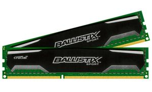 Ballistix Sport Series DDR3-1600,  CL9 - 8 GB Kit