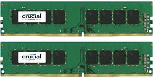 CRUCIAL 8GB Kit (4GBx2) DDR4 2133 MT/s (PC4-17000) CL16 SR x8 Unbuffered DIMM 288pin (CT2K4G4DFS8213)
