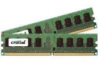 CRUCIAL 2GB kit DDR2 1066MHz CL7 UDIMM 240pin (CT2KIT12864AA1067)