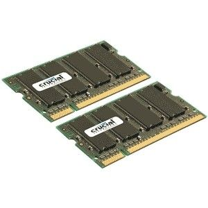 CRUCIAL 2GB kit DDR2 800MHz CL6 SODIMM 200pin (CT2KIT12864AC800)