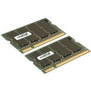 CRUCIAL DDR2 SO-DIMM PC5300 1GB CL5 Non-ECC, 1.8V,128Mx64, 200pin