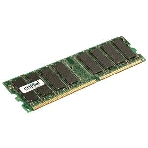 CRUCIAL 1GB DDR 400MHz PC3200 / UDIMM 184pin / CL3 (CT12864Z40B)