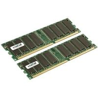 2GB KIT (1GBX2) DDR 333MHZ CL2.5 UNBUFFERED UDIMM 184PIN