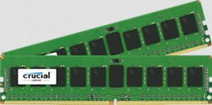 CRUCIAL DDR4 2133MHz 16GB RegDIMM 16GB Kit (8GBx2) DDR4 2133 MT/s (PC4-2133) CL15 SR x4 ECC Registered DIMM 288pin (CT2K8G4RFS4213)
