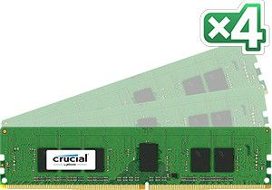 16GB Kit (4GBx4) DDR4 2133 MT/s (PC4-213