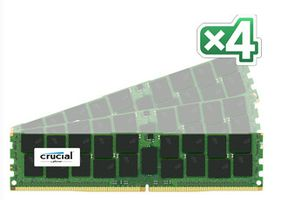 CRUCIAL 128GB Kit (32GBx4) DDR4 2133 MT/s (CT4K32G4LFQ4213)