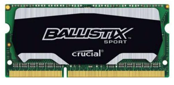 Simm SO DDR3 PC1866  4GB CL10 Crucial