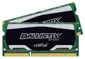CRUCIAL Simm SO DDR3 PC1600  8GB CL9 Crucial (BLS2C4G3N169ES4CEU)