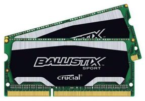 CRUCIAL 8GB Kit 4GBx2 DDR3 1866 MT/s PC3-1490 (BLS2C4G3N18AES4CEU)