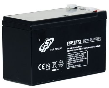 FSP/Fortron UPS Battery 12V7AH for FP600_ EP650_ EP1000 (MPF0000100GP)