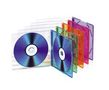 TNB TnB CD slimcase til 2CD - 15 pack, 5 farver x 3 stk, Jewel Case slim til 2 stk CD eller DVD