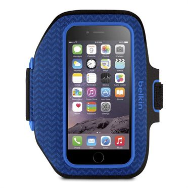 Belkin iPhone 6/ Sport-Fit Plus Armband Blue/ Marina