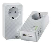ASUS DUO Home Plug AV 600Mbps Powerline Adapter (2 pcs)