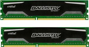 8GB kit 4GBx2 DDR3 1600 MT/s