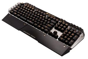 700K Gaming Tastatur, MX Brown, US Layout - schwarz