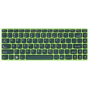 LENOVO LSP85BlackKeyGreenFKeyboard (25204042)