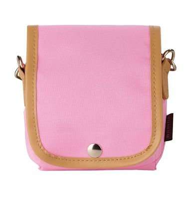 Instax Mini 8 Case pink + Strap