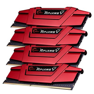 DDR4 32GB PC 3000 CL15 KIT (4x8GB) 32GVR Ripjaws