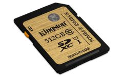 KINGSTON 512GB SDXC CLASS 10 UHS-I 90MB/S READ 45MB/S