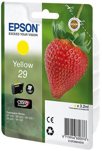 EPSON Ink Cart/ Claria Home SP 29 Yellow (C13T29844020)