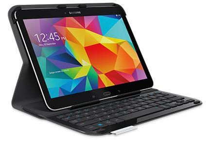 LOGITECH Logi UltraThin Folio for Galaxy Tab 4 bk (920-006389)
