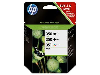 HP INK CARTRIDGE HP SD448EE NO.350/ NO.351 TWIN-PACK BLACK/ COLOR (SD448EE #445)