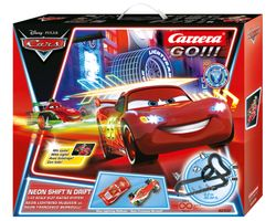 CARRERA GO!!! Disney/ Pixar Neon Shift'n drift 62332 (20062332)