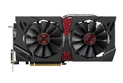 STRIX-R9380-DC2-2GD5-GAMING 2GB GDDR5 970MHZ 2XDVI HDMI DP   IN CTLR