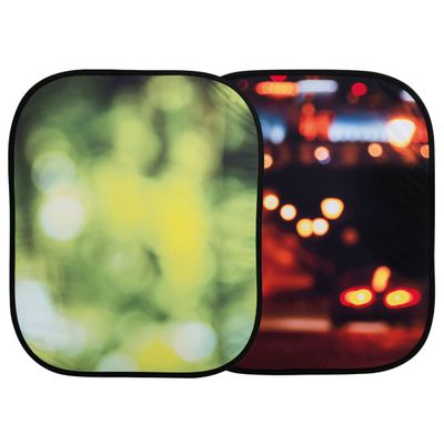 Out of Focus Backgroun Summer Foliage/ City Lights