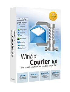 WINZIP COURIER 6 UPGRADE ML 100-199 USER IN