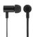 STREETZ in-ear headset med mikrofon, svarknap, IP67, 1,2m, sort