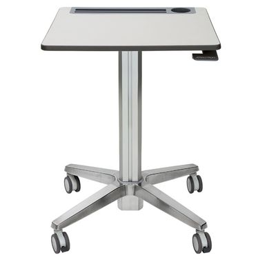 LEARNFIT II STANDING DESK ADJUSTABLE/ CLEAR ANODIZED ACCS